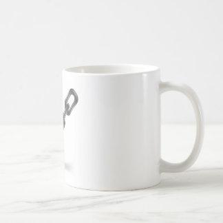 staal ketting koffiemok