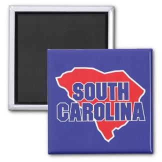 Staat de Zuid- van Carolina Magneet