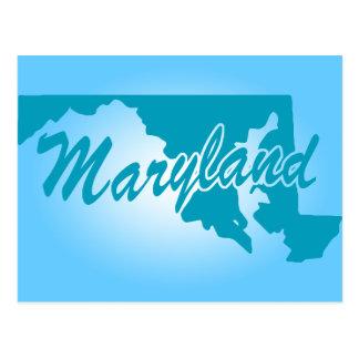 Staat Maryland Briefkaart
