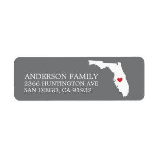 Staat | van Florida het Nieuwe Etiket van het