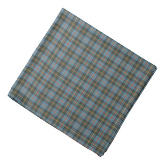 Staat van het Geruite Schotse wollen stof van Bandana
