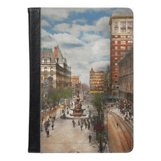 Stad Cincinnati OH - de Fontein 1907 van Tyler