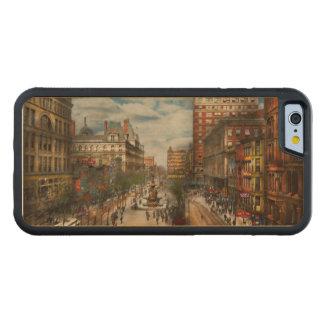 Stad Cincinnati OH - de Fontein 1907 van Tyler Esdoorn iPhone 6 Bumper Hoesje