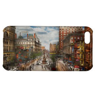 Stad Cincinnati OH - de Fontein 1907 van Tyler Hoesjes Voor iPhone 5C