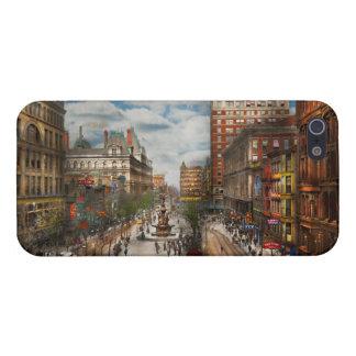 Stad Cincinnati OH - de Fontein 1907 van Tyler iPhone 5 Hoesje