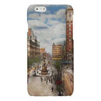 Stad Cincinnati OH - de Fontein 1907 van Tyler iPhone 6 Hoesje Glanzend