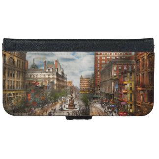 Stad Cincinnati OH - de Fontein 1907 van Tyler iPhone 6 Portemonneehoesje