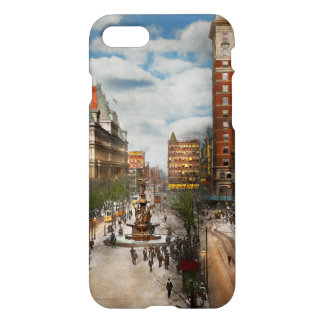 Stad Cincinnati OH - de Fontein 1907 van Tyler iPhone 8/7 Hoesje