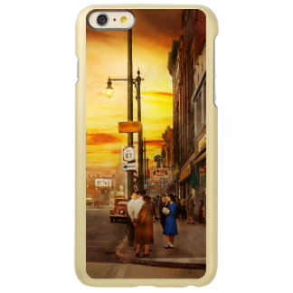 Stad - NY van Amsterdam - de verloren stad 1941 Incipio Feather® Shine iPhone 6 Plus Hoesje