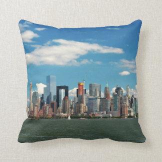 Stad - NY van New York - de horizon van New York Sierkussen