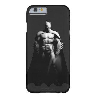 Stad | van Arkham Zwart-witte Breed van Batman Barely There iPhone 6 Hoesje