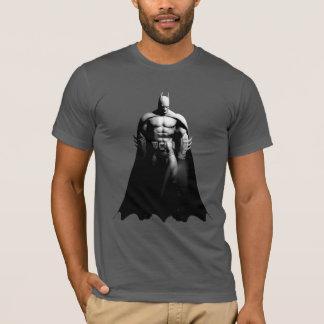 Stad | van Arkham Zwart-witte Breed van Batman T Shirt