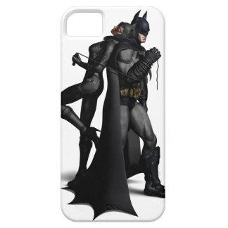 Stad | van Batman Arkham Batman en Catwoman Barely There iPhone 5 Hoesje