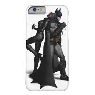 Stad | van Batman Arkham Batman en Catwoman Barely There iPhone 6 Hoesje
