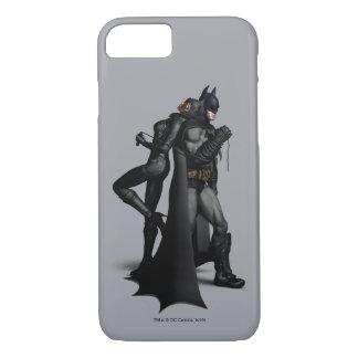 Stad | van Batman Arkham Batman en Catwoman iPhone 8/7 Hoesje