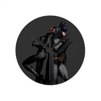 Stad   van Batman Arkham Batman en Catwoman Ronde Klok