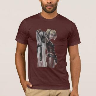 Stad | van Batman Arkham de Illustratie van Harley T Shirt