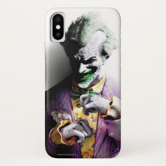Stad | van Batman Arkham Joker iPhone X Hoesje