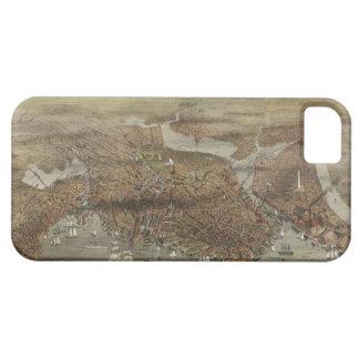 Stad van Boston Massachusetts 1873 Barely There iPhone 5 Hoesje