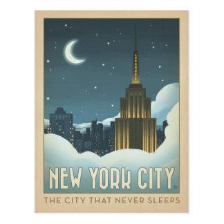 Stad | van New York de Stad die nooit Slaap Briefkaart