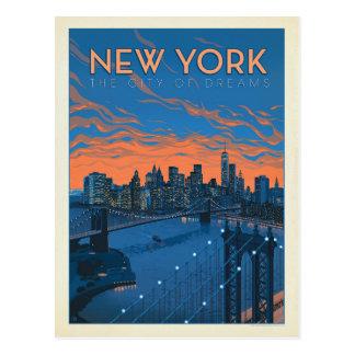 Stad | van New York de Stad van Dromen Briefkaart