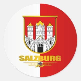 Stad van Salzburg Ronde Sticker