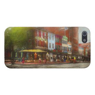 Stad - Washington DC - het Leven op 7de St 1912 iPhone 5 Cases