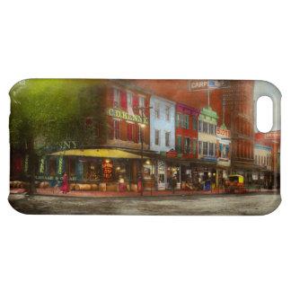 Stad - Washington DC - het Leven op 7de St 1912 iPhone 5C Hoesje