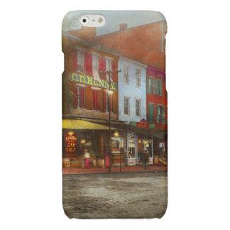 Stad - Washington DC - het Leven op 7de St 1912 iPhone 6 Hoesje Glanzend