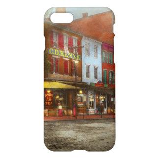 Stad - Washington DC - het Leven op 7de St 1912 iPhone 8/7 Hoesje