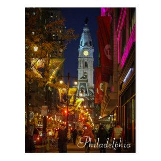 Stadhuis, Philadelphia Briefkaart