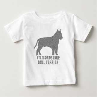 Staffordshire Bull terrier Baby T Shirts