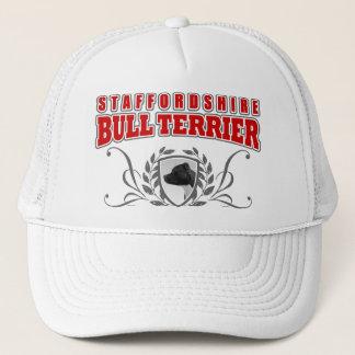Staffordshire Bull terrier COA rode tekst Trucker Pet