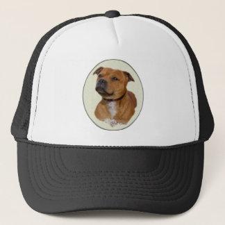 Staffordshire Bull terrier Giften Trucker Pet