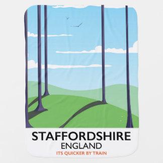 Staffordshire Engeland treinposter Inbakerdoek