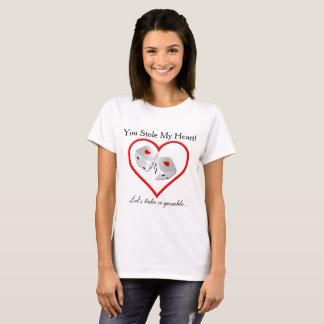 Stal Mijn Hart - gok Overhemd T Shirt