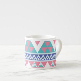 Stammen Azteeks kleurrijk patroon Espresso Kop