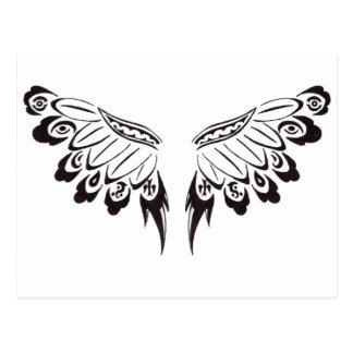 Stammen BloemenVleugels Briefkaart