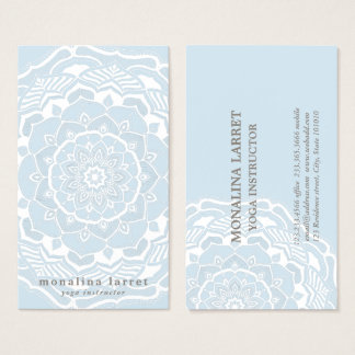 Stammen Boheemse Mandala die Sjofel Elegant Blauw Visitekaartjes