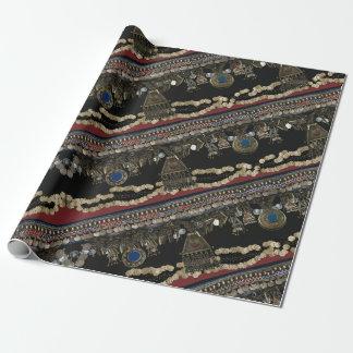 Stammen Buikdans Kuchi Inpakpapier