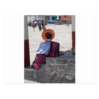 Stammen Dame Briefkaart