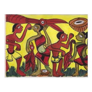 Stammen Dans Briefkaart