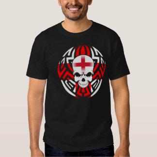 Stammen Engelse Vlag/Schedel Shirt