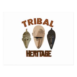 Stammen Erfenis Briefkaart