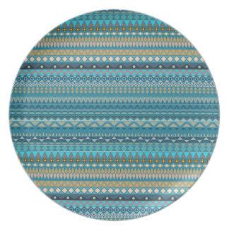 Stammen gestreept abstract patroonontwerp bord