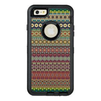 Stammen gestreept abstract patroonontwerp OtterBox defender iPhone hoesje