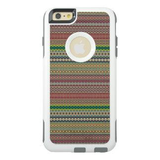 Stammen gestreept abstract patroonontwerp OtterBox iPhone 6/6s plus hoesje