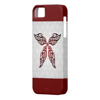 Stammen iPhone 5 van het Tattoo van de Vlinder Barely There iPhone 5 Hoesje