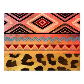 Stammen Luipaard Briefkaart