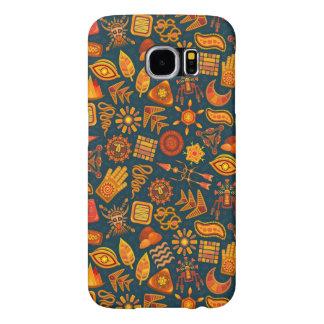 Stammen Patroon Samsung Galaxy S6 Hoesje